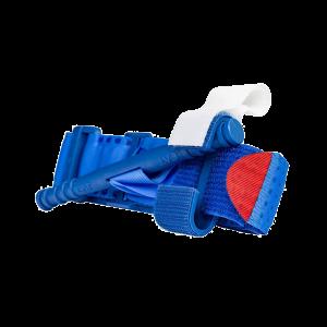 blå-övnings-tourniqet